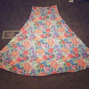 Women's Lycra flower skirt